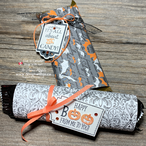 Photos for FAST Wrapped Candy Bar Halloween Treatholders
