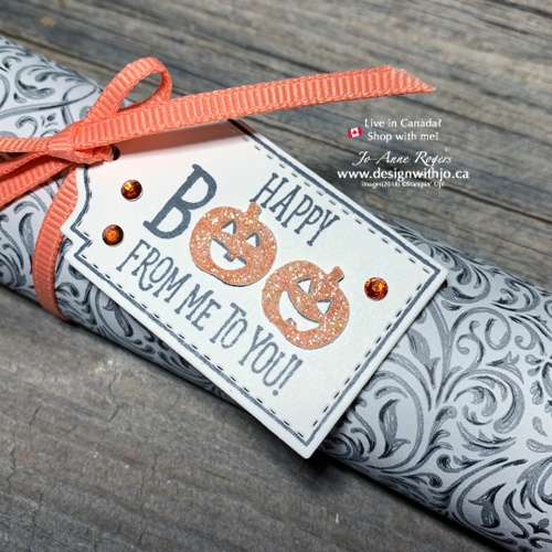 Make FAST Wrapped Candy Bar Halloween Treatholders with Patterned Paper from Stampin Up