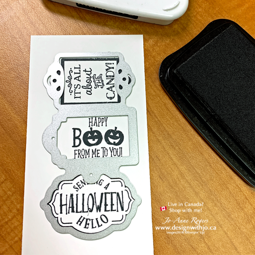 It's Not Too Late to Make Wrapped Candy Bar Halloween Treatholders with the Trio of Tags