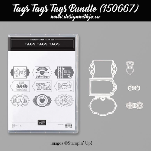 Make a FAST Wrapped Candy Bar Halloween Treatholder with the Tags Tags Tags Bundle