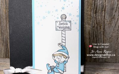 Simple Holiday Greeting Card with Alcohol Markers