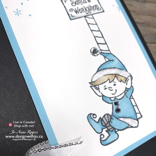 Get All the Steps to Make the Simple Holiday Greeting Card with Alcohol Markers