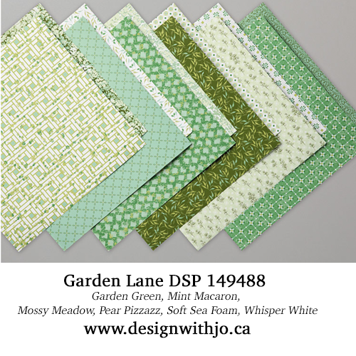 Diagonal Crossover Fold Card for Christmas