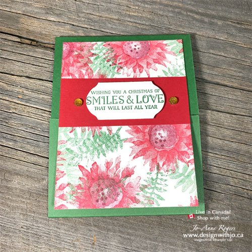 Quick & Easy Christmas Card Crafting From Leftovers with the Painted Harvest stamps
