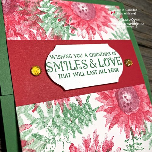 STEP-By-STEP Christmas Card Crafting From Leftovers