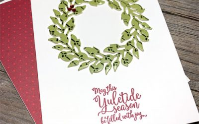 {VIDEO Tutorial} Easy Christmas Card Using DSP