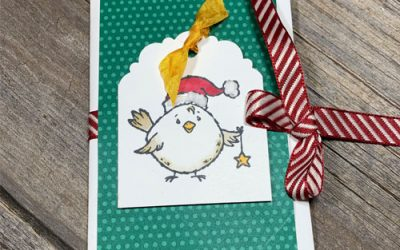 {LIVE VIDEO} Easy Gift Card Holder to Make for the Holidays