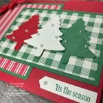 Grab Your Pine Tree Punch for this Flap Fold Card Christmas Tree Card
