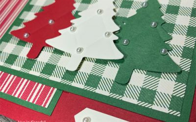Flap Fold Christmas Tree Card