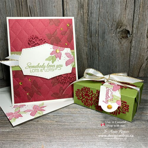 Make Holiday Cards with Rubber Stamps
