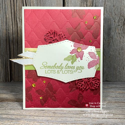 Let's Play with Parcels & Petals to Make Holiday Cards with Rubber Stamps