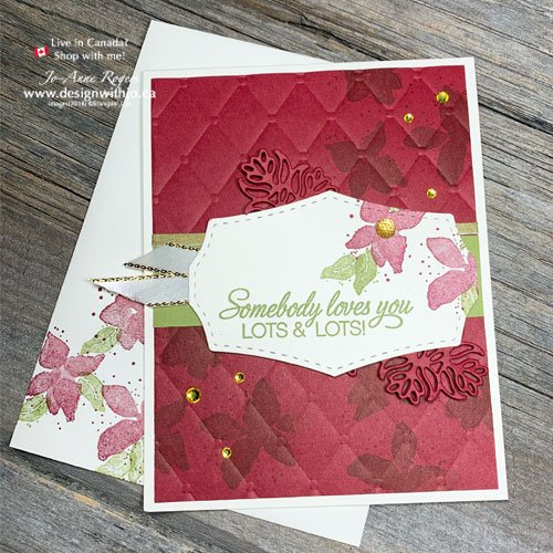 TIPS to Make Holiday Cards with Rubber Stamps from almost ANY Stamp Set