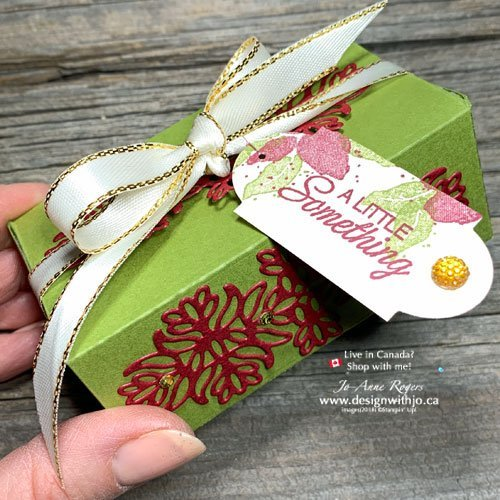 BONUS: Make Holiday Cards with Rubber Stamps PLUS a Sweet Little box