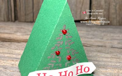 {Free Template} Make a Mini Christmas Tree Table Favour