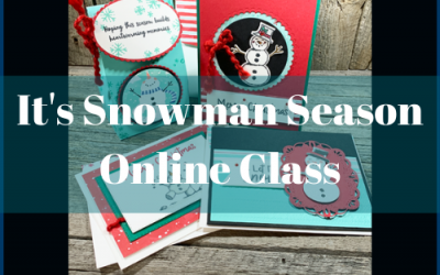 It's Snowman Season Kreativity Kit