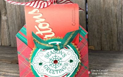 {VIDEO} 3D Gift Card Holder to Make at Home