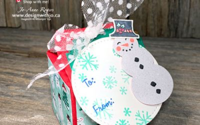 {VIDEO} Last Minute Mini Milk Carton Favour Box