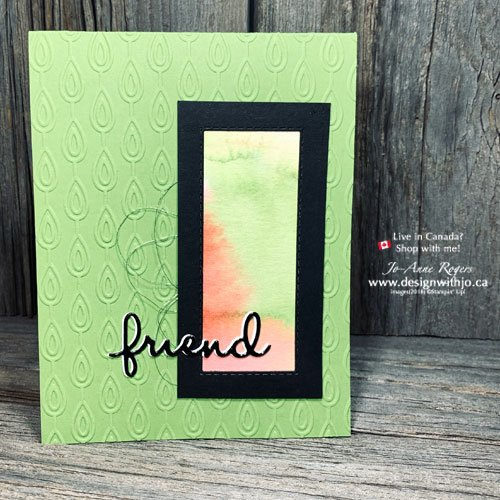 Card for a Friend Made From Scraps