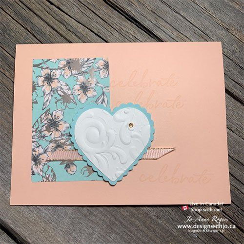 Beautiful Spring Mini Open House Projects with Parisianne Flourish 3D Embossing Folder