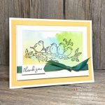 Beautiful and Easy Watercolour Thank You Notes to Make with Your Aqua Painters and Stamp Pads