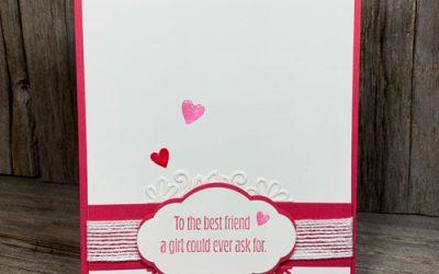 Happy Best Friend Valentines Day Card