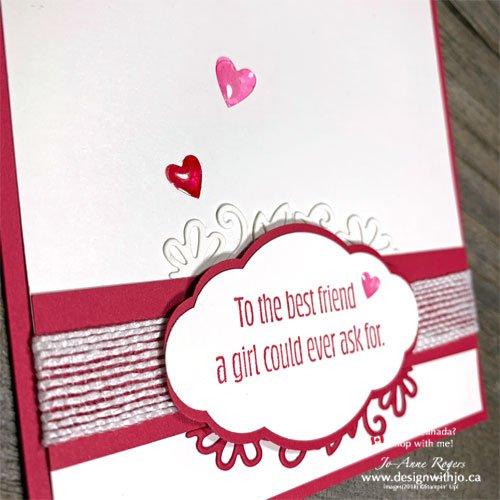 Simply Sweet Best Friend Valentines