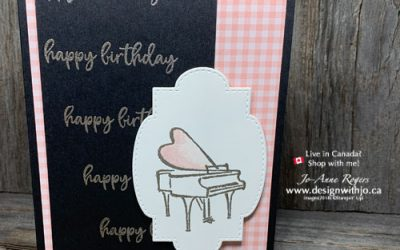 {JO-Tips VIDEO} How to Remove Embossing Powder Spots on Handmade Cards