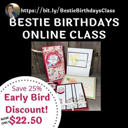 Bestie Birthdays Online Class