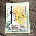 My Top TIPS to Create Awesome Cards When You Colour Patterned Paper with Alcohol Markers from Stampin Up!