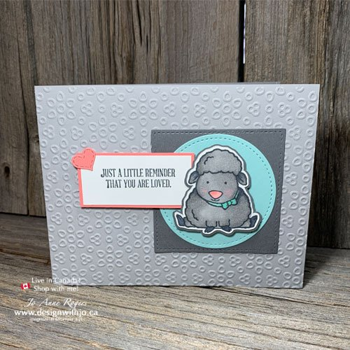 Handmade Encouragement Cards with Welcome Easter and Well Said Stamps