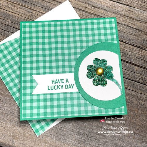 See How to Make a Shamrock with a Paper Punch