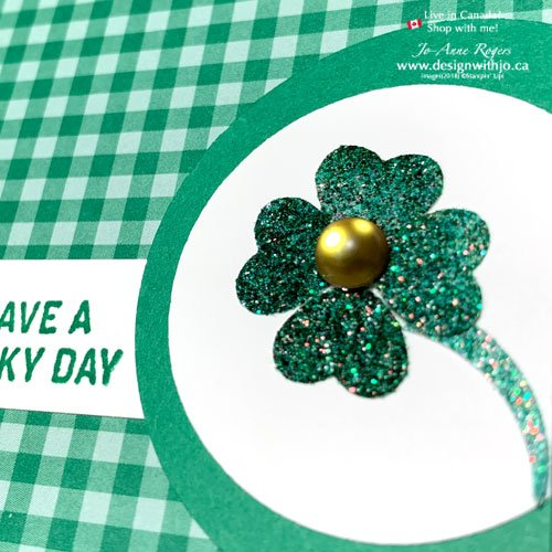 JO-Tips Video: How to Make a Shamrock with a Paper Punch