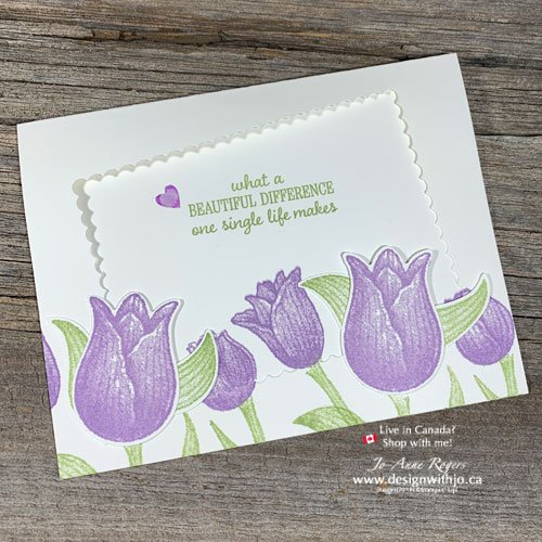 Save on Cardstock with This Simple Stamp Positioner Tip