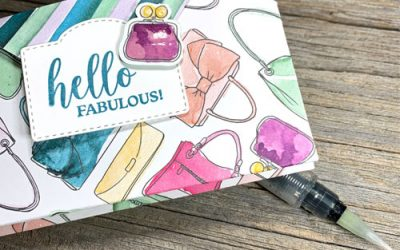 {JO-Tips Video} How to Make a Shiny Embellishment for Card Making