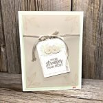 I LOVE to Layer Dies for Card Making like these Beautiful Promenade dies and stamps from Stampin Up!