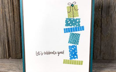 {FREE PDF} Quick and Easy Two Step Rubber Stamped Birthday Card