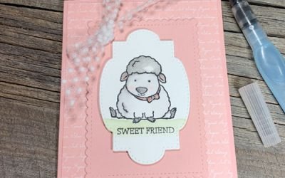 Cute Handmade Card Idea for Stamp Pad Ink Refills