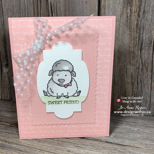 Cute Handmade Card Idea for Stamp Pad Ink Refills for Beginner Watercolouring