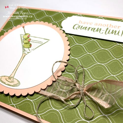 Funny Quarantine Handmade Cards Friends with LOVE!