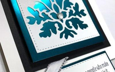 Handmade Die Cut Cards for Friends