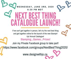Next Best Thing 2020 Catalogue Launch