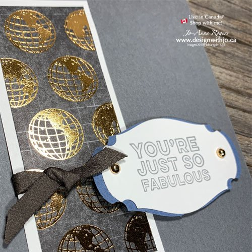 DIY Card for Dad with World of Good Designer Series Paper from Stampin' Up!