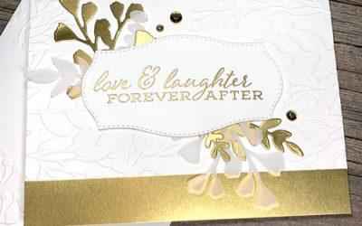DIY Elegant Wedding Card
