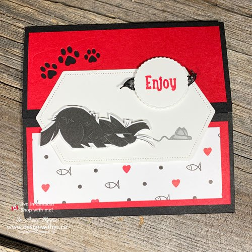 DIY Card for Pet Owners with Playful Pets Suite from Stampin Up!