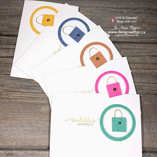 VIDEO for How to Make a Tiny Purse Notecard with the Lovely Labels Pick a Punch