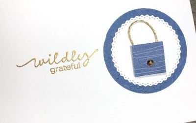 How to Make a Tiny Purse Notecard {VIDEO}