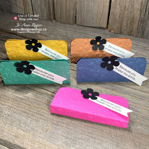 VIDEO for How to Make a Mini Clutch Purse Merci Chocolate Treat Holder