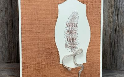 Simple Handmade Card for Someone Special