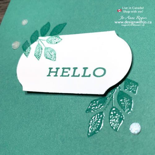 Whats the Simplest Heat Embossed Handmade Card You Can Make?