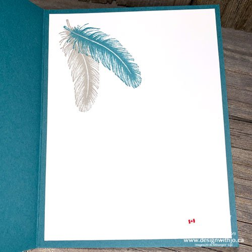 Cardmaking with Patterned Paper and Tasteful Touches